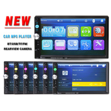 "2 Din 7 ""HD Pantalla Táctil de Coches Reproductor de Vídeo Bluetooth Stereo Radio FM/MP3/4/MP5/DVD/Audio/USB Electrónica Automotriz En Dash autoradio"