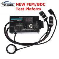 New Type for BMW FEM/BDC Test Platform for BMW F20 F30 F35 X5 X6 I3 Test Platform with Black Case Free shipping