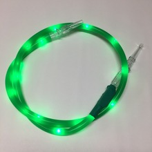 Coloré LED Lumineux Narguilé Narguilé Chicha chicha Tuyau Tube Accessoires pour Fumeurs Tabac Herb Cigarettes Fumée