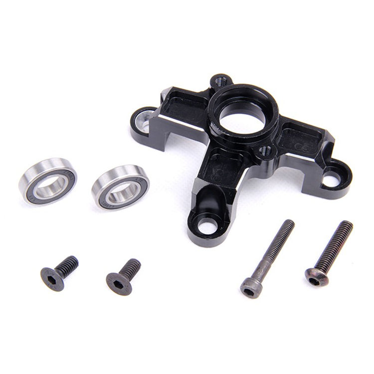 CNC Metal Clutch Bell Mount fit 26CC 29CC 30.5CC Engine for 1/5 HPI KM Rovan Baja 5B 5T 5SC Rc Cars Parts engine fan cylinder cover pull start fit zenoah cy for hpi baja rv km 5b 5t 5sc parts