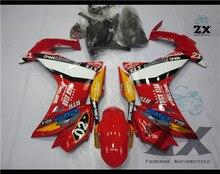 Carenagens da motocicleta para HONDA CBR600F 2011-2013 CBR 600F Injeção Plástica Mouding fairing kits SUK H600F-2 UV