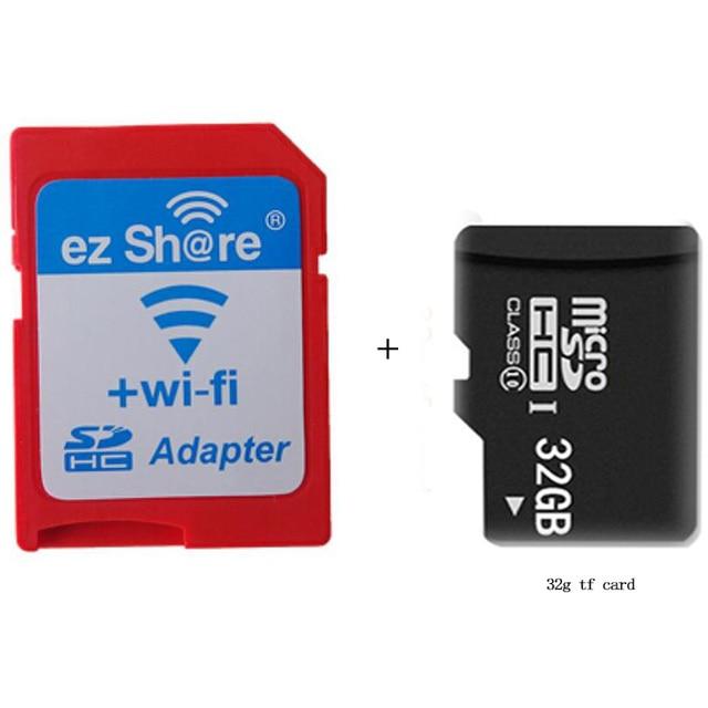Ezshare Высокоскоростной Беспроводной WI-FI WLAN Адаптер SD Card, микро-эз поделиться SD card для SD Адаптер Wi-Fi