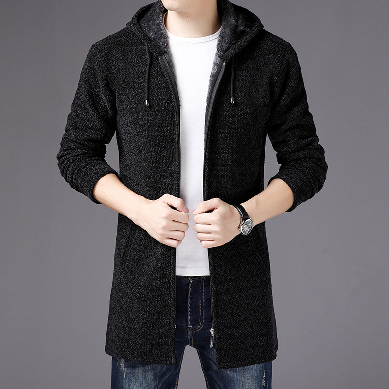 Loyal New Arrival Hooded Sweater Cashmere Men With Hood Thick Afs Jeep Cardigan Jacket Fashion Casual High Qualtiy Size S Men's Clothing 3xl Cardigans