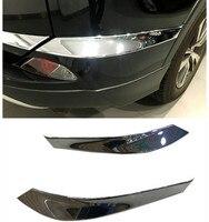 NEW For TOYOTA RAV4 2016 ABS Chrome Rear Bumper Corner Protector Cover Trim 2pcs