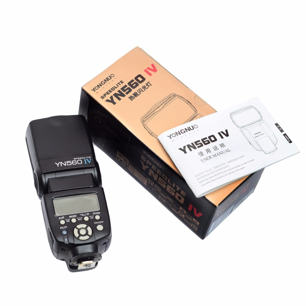 YONGNUO YN560 IV YN-560IV 2.4G Wireless Camera Flash Speedlite Built-in Trigger System for Canon Nikon Pentax Camera with gifts 560 136x16 g