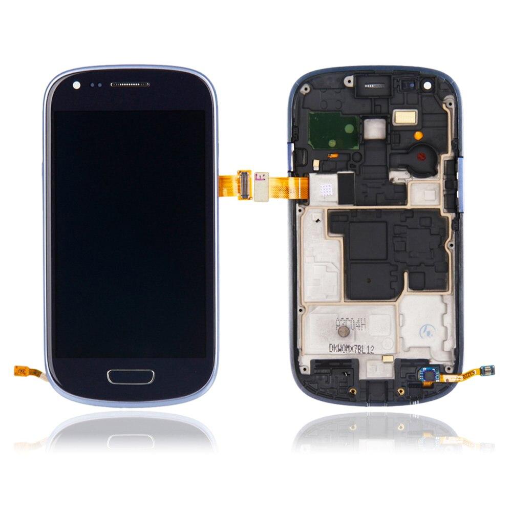 Sinbeda Super AMOLED LCD 4.0 ''Para SAMSUNG GALAXY S3 Mini i8190 i8195 i8190N LCD Screen Display Toque Digitador Assembléia quadro