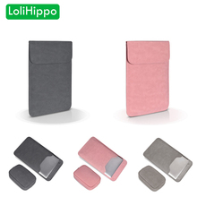LoliHippo PU Leather Ultra Light Laptop Sleeve Bag for Apple Macbook Air Pro Retina 11.6 13.3 15.4 Inch Notebook Liner Bag Case