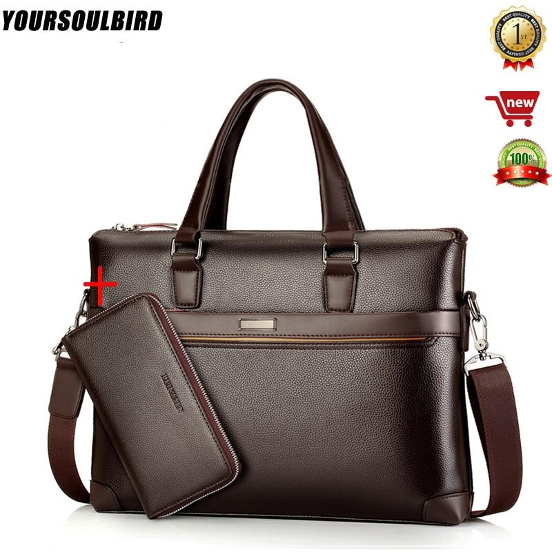 bolso hombre maleta lawyer sac luxe sacoche homme leather briefcase messenger lo mas vendido business office Innrech Market.com