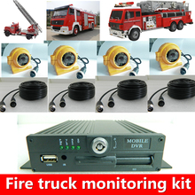 LSZ MDVR direct sales and Youfeng car monitoring set price concessions host camera HD quality built-in intercom function