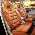 High-grade do assento de carro térmico quente e muito bom cabelo pilling confortável e respirável coxim do automóvel