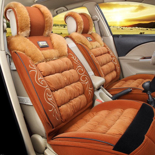 High-grade thermal car seat warm and very good hair pilling comfortable and breathable automobile cushion