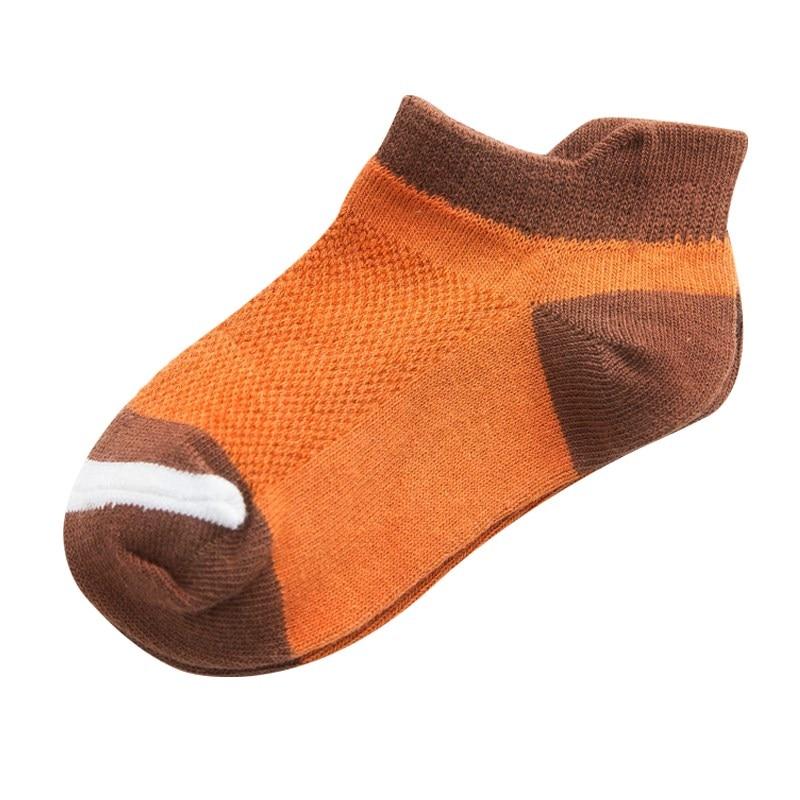 10Pcs/lot Spring Summer children's socks Mesh Cotton Socks for a boy Striped Solid socks for children Girls Kids Sport Socks 2
