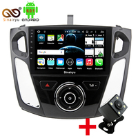 9Inch Vehicle Android Octa Core Capacitive HD GPS Navigation Stereo Radio Car DVD Player For Ford