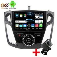 9 Pouces Véhicule Android Octa Core Capacitif HD GPS Navigation Radio Stéréo De Voiture Lecteur DVD Pour Ford Focus 3 2011 12 13 14 15 C-max