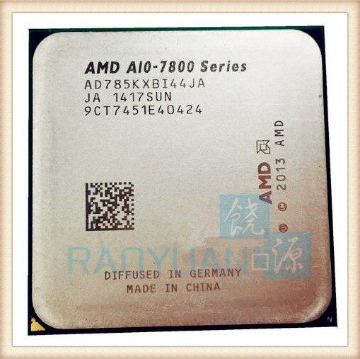 AMD A10 7800 Série A10-7850K A10 7850 A10 7850 k 3.7 ghz Quad-Core CPU Processeur AD785KXBI44JA Prise FM2 +