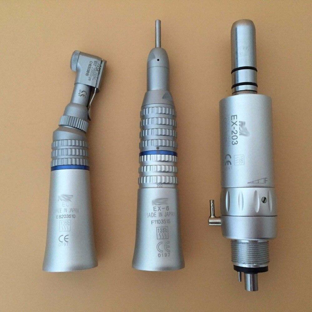 handpiece turbina dental kit de polimento EX-203C conjunto e-tipo midwest