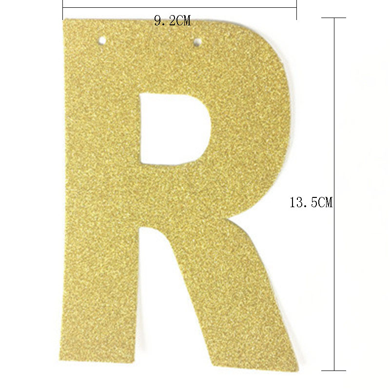 Gold Black Silver Glitter Happy 60th Birthday Banner Popular Sixty Party Decor 60 Decorations Supplies In Banners Streamers Confetti From