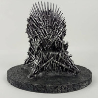 Game Of Thrones Figures The Iron Throne A Song Of Ice And Fire Sword Chair Resin
