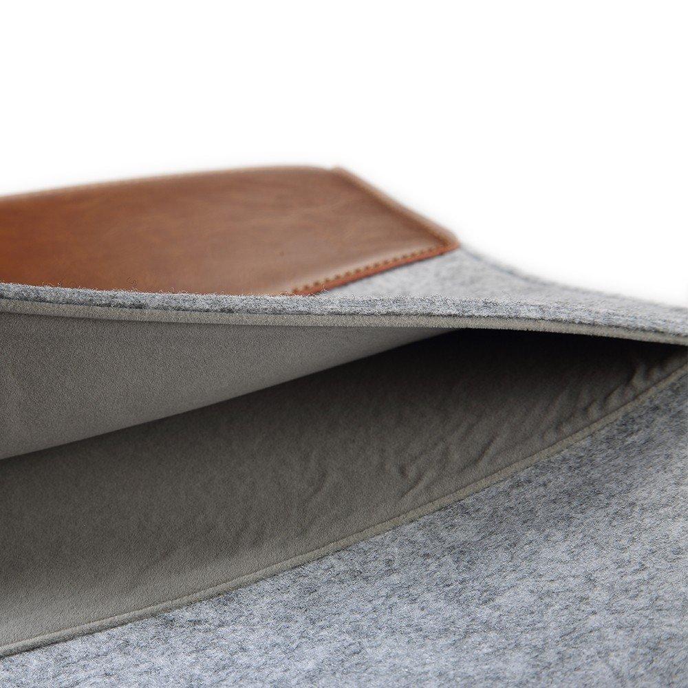 Funda de piel genuina cubierta para microsoft surface pro1 2 3 4 12 - Accesorios para tablets - foto 5