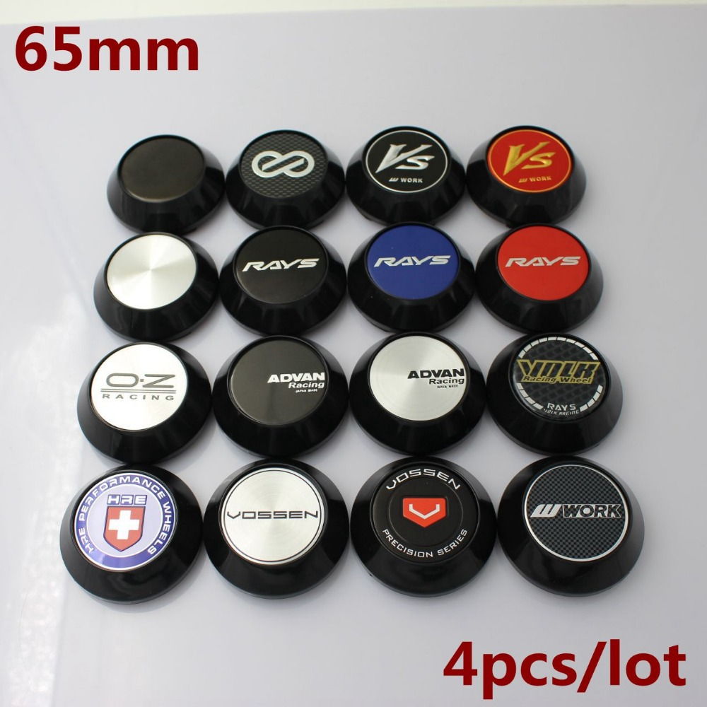 KOM POWER Car-Styling 65MM ADVAN ENKEI VOLK RAYS Emblema TRABAJO - Autopartes
