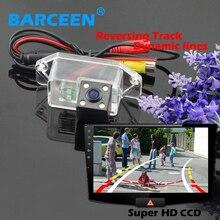 170 объектив угол заднего вида камера заднего вида 4 led и Динамичный трек линии ccd image sensor use for Mitsubishi lancer