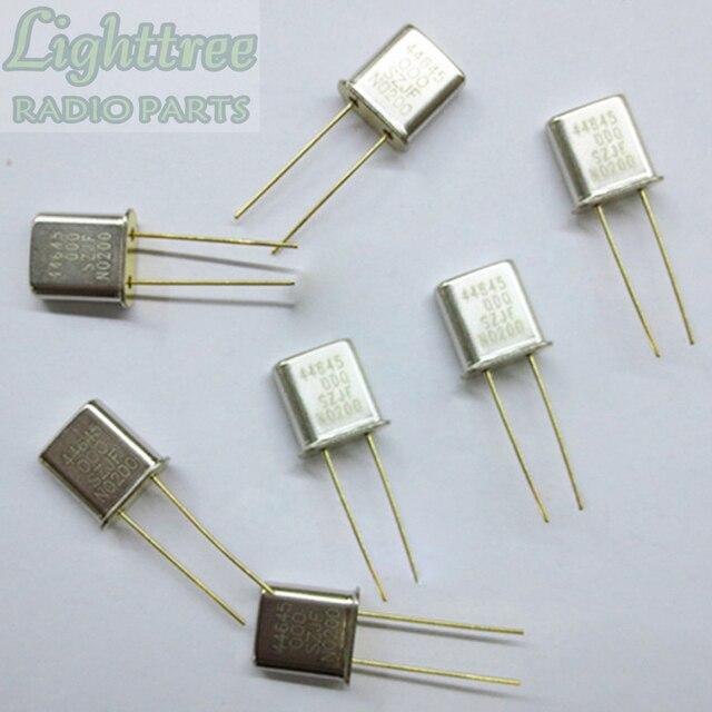10X Neue RX Kristall 44,645 Mhz Für Motorola GM300 Zwei Vorsichtig Radio