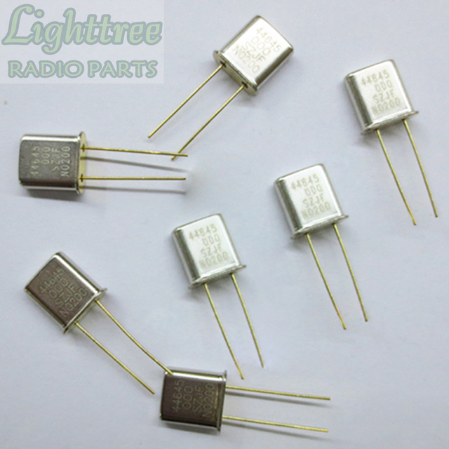 10X New RX Crystal 44.645Mhz For Motorola GM300 Two Wary Radio
