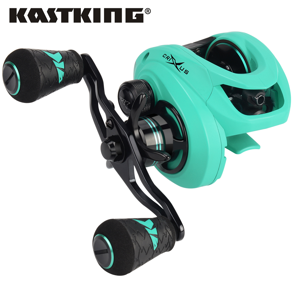 KastKing 2019 New Crixus Super Light Baitcasting Fishing Reel Dual Brake System Freshwater 8KG Drag Casting Reel Fishing CoilKastKing 2019 New Crixus Super Light Baitcasting Fishing Reel Dual Brake System Freshwater 8KG Drag Casting Reel Fishing Coil
