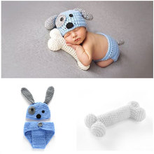 Newborn Baby Photography Props Baby Hat Crochet Knit Costume Baby Boy Clothes Infant Outfits Newborn Photo Props Accessories цена 2017