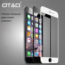 Для Apple iPhone 6 + 6 S Plus Полный Экран Coverge Закаленное стекло Защитная Пленка 5.5 inch 2.5D 9 H Черный Белый Розового Золота