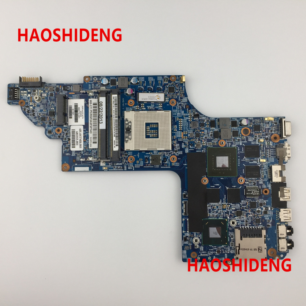 все цены на Free Shipping 682172-501 for HP Pavilion DV6  DV6T DV6-7000 series motherboard with GT650M/1G.All functions 100% fully Tested ! онлайн