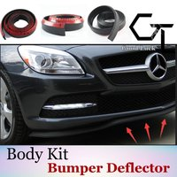 Samochód części modyfikacji ciała/zderzak przedni Lip/Anti Scratch/modny styl dla Mercedes Benz/ zderzak wargi/wysokiej jakości w Spoilery i skrzydła od Samochody i motocykle na