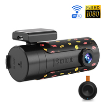 DDPai Mini Wifi Car DVR Rotatable Lens Car Camera HD Night Vision Dash Cam Recorder Bluetooth Wireless Snapshot Auto Camcorder