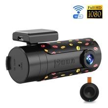 DDPai Mini Wifi Coche Lente Giratoria Cámara Visión Nocturna de HD Del Coche DVR Grabador Dash Cam Inalámbrica Bluetooth Instantánea Auto Videocámara