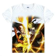 Nueva impresión de la manera 3d t shirt hombres mujeres anime tees de dibujos animados Uno-Punch patrón Hombre t-shirt ropa de marca Harajuku homme cosplay