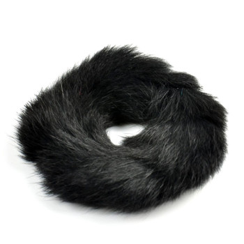 Rabbit Fur Hair Band Pony Tail Holder