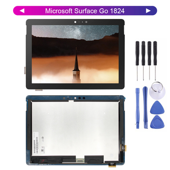 100% Tested LCD For Microsoft Surface Go 1824 LCD Display Touch Screen Glass Sensor Digitizer Tablet Surface Go Assembly