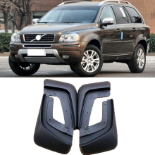 Front Rear Car Mud Flaps For VOLVO XC90 2007-2014 Mudflaps 2008 2009 2010 2011 2012 2013 Splash Guards Mud Flap Mudguards Fender car styling abs front rear door mud splash flap guard fender for honda cr v 2015 crv 4dr mudguards 2012 2013 2014 2015 black