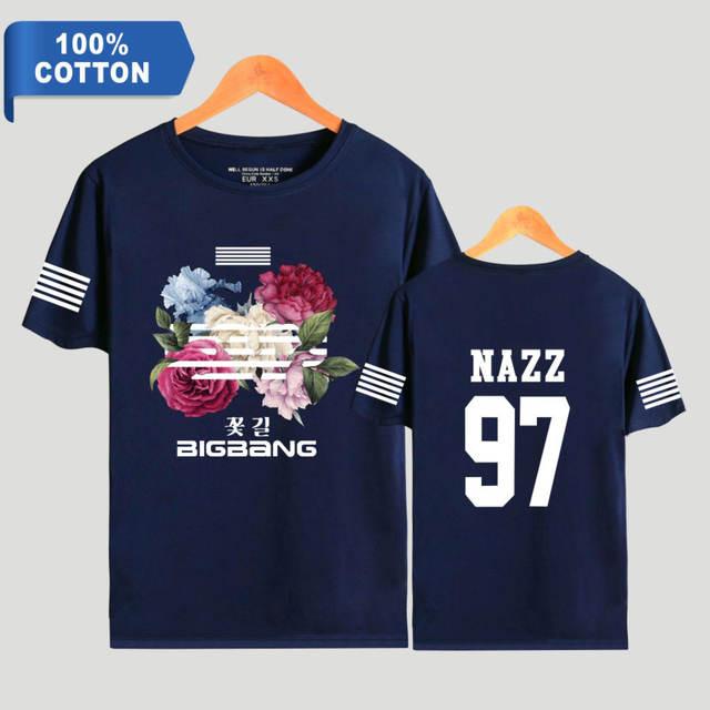 BIGBANG MEMBER T-SHIRT (12 VARIAN)