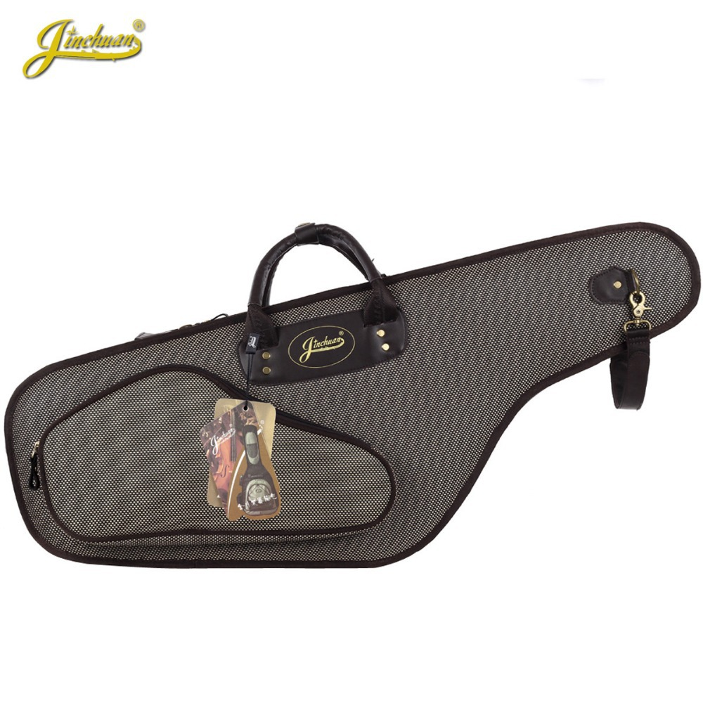Professional Portable Luxurious durable Tenor B flat Alto Saxophone Gig Bags Case Cover Waterproof package Durable soft padded 90cm professional portable bamboo chinese dizi flute bag gig soft case design concert cover backpack adjustable shoulder strap