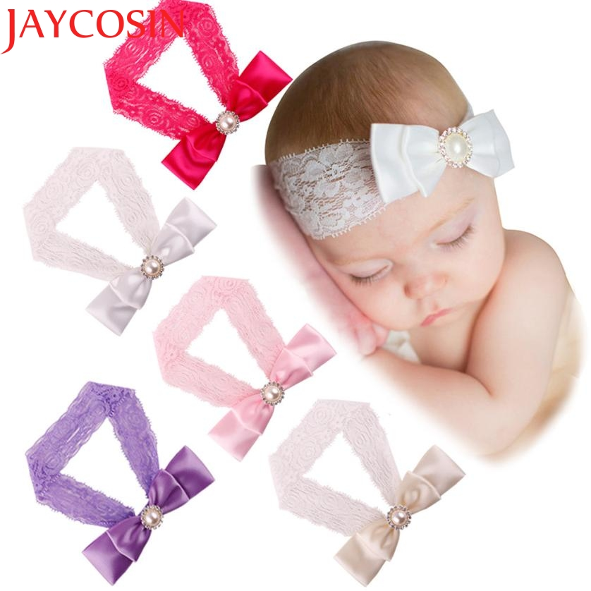 Cute Bowknot Headband Headwear hair accessories Girl headband cute hair band floral headband WJul27 drop Shipping цены онлайн