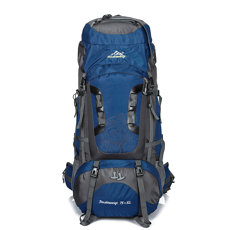 80L Large Backpack Waterproof outdoor Travel Bags Camping Hiking Climbing Backpacks Waterproof Rucksack Sport bag in Climbing Bags from Sports Entertainment