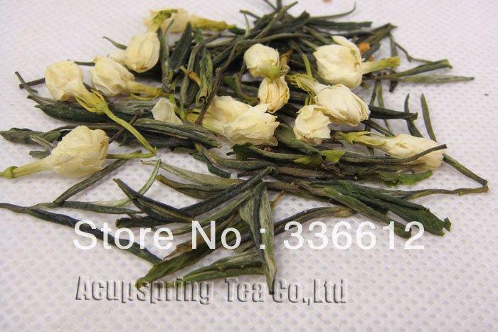 4oz/100g Jasmine Flower Anji White Tea,Anji Bai Cha, Tea,A3CLA03M, Free Shipping 500g 1lb premium jasmine flower anji white tea anji bai cha tea a3cla02m free shipping