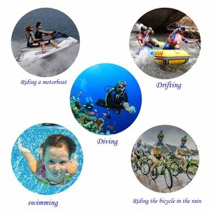 Image 5 - Suptigため行くプロセッション防水シェルケース水中60メートル保護シリコンハウジングボックス移動プロヒーロー5 4セッションアクセサリー