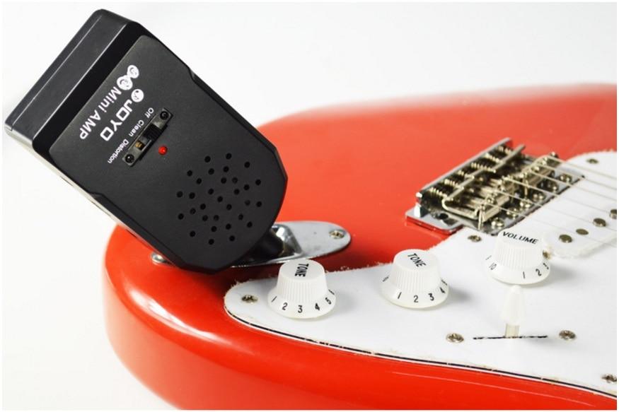 JA-01 2W mini kaasaskantav kitarrivõimendi kõrvaklappide_MP3 sisendiga 3,5 mm kvaliteetne kitarrivõimendi, millel on moonutusefekt