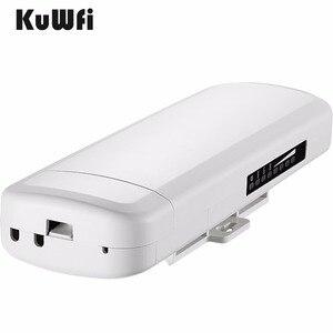 Image 5 - Km gama 3 Kuwfi 300Mbps Wi fi CPE Roteador Sem Fio 2.4G Ponto de Acesso Repetidor Extender Ponte Para Câmera LED exibir Fora