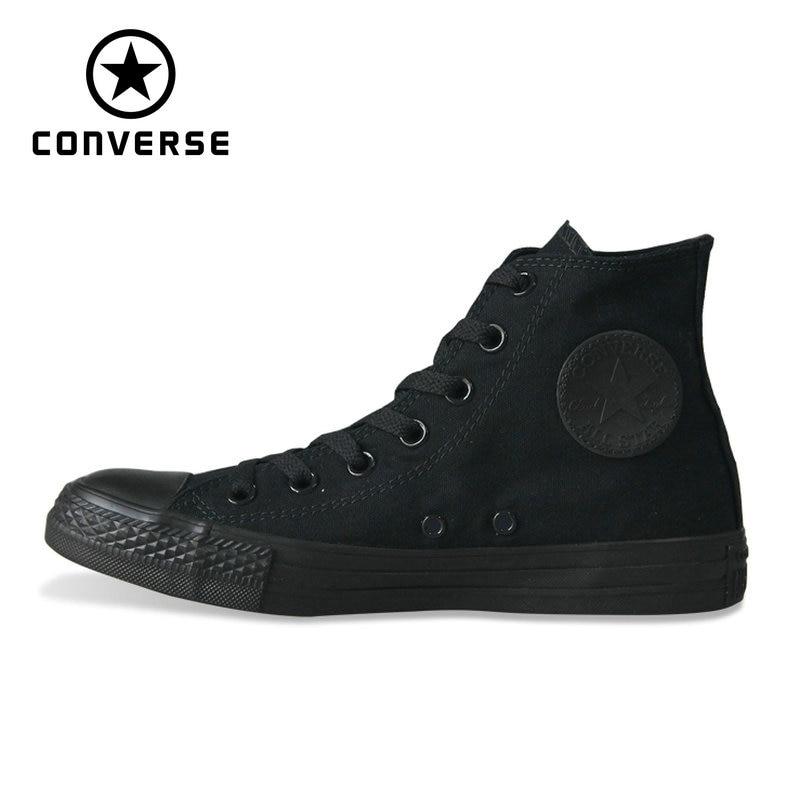 Классические Оригинальные Converse all star парусиновые туфли 2 цвета высокая классическая обувь для скейтбординга мужские и женские кроссовки