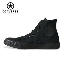Классические Converse Оригинальные кроссовки all star парусиновая обувь 2 цвета высокие классические Скейтбординг обувь для мужчин и женщин кроссовки