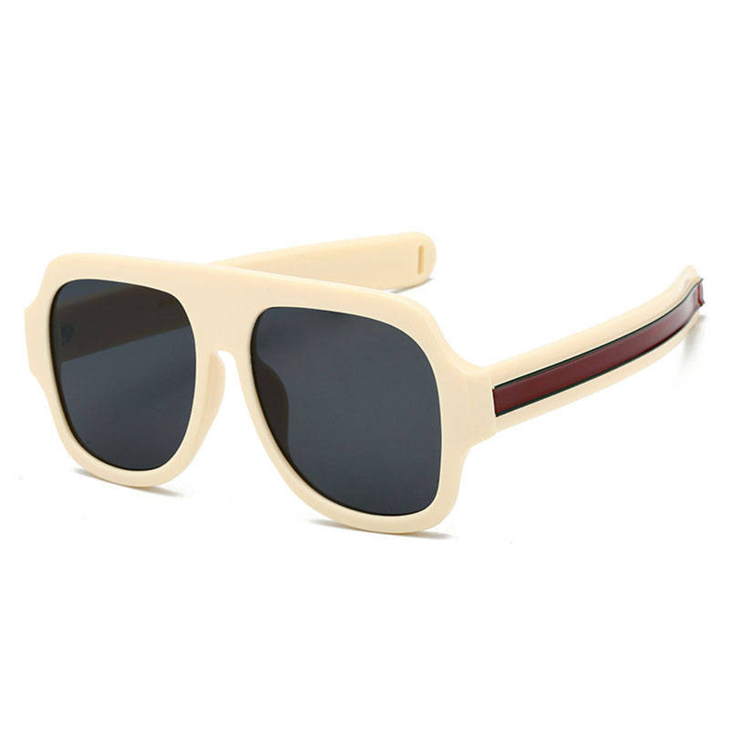 a081368585 Big Oversized Sunglasses Man Woman Yellow Mens Sunglasses for Men Women  Retro Plastic Sun glasses Pink Trendy Sunglass Oculos -in Sunglasses from  Apparel ...