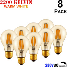 E27 Antique Edison Style 25 40 60 Watt Incandescent Equal A60 4 6 8 W Vintage Filament LED Pendant Light Bulb 220 230 240 Volt